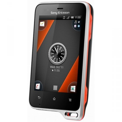 Základný telefón  Sony Ericsson Xperia Active Black Orange