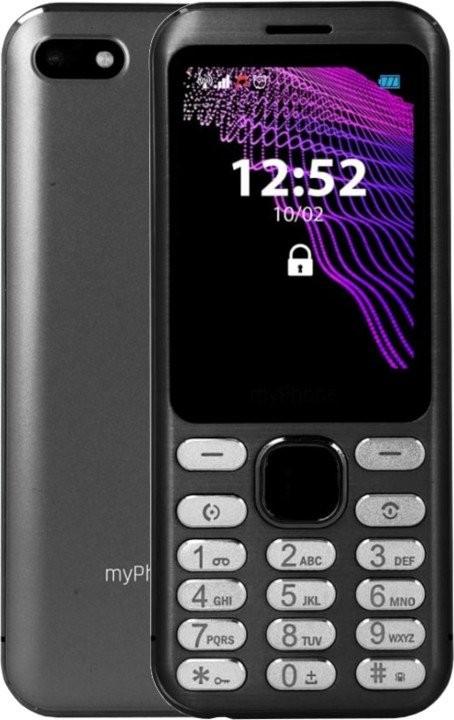 Základný telefón Tlačidlový telefón myPhone Maestro, čierna