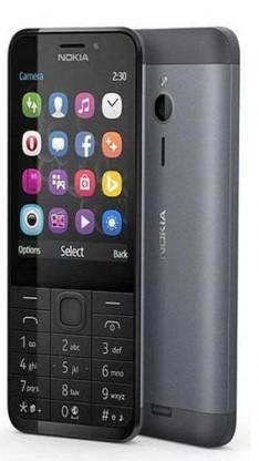 Základný telefón Tlačidlový telefón Nokia 230 Dual SIM, šedá