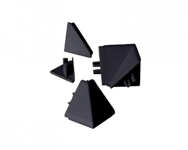 Zakončenie lišty na kuchynskú linku (čierna)