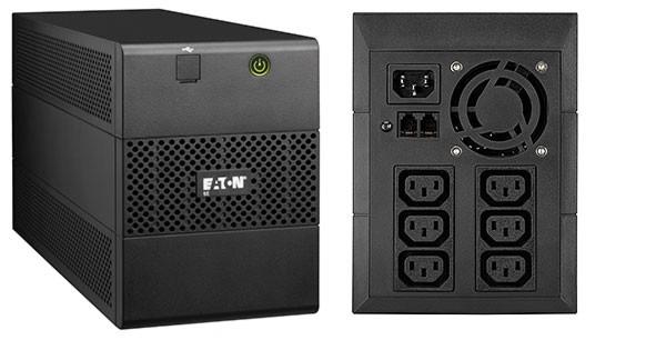 Záložné zdroje EATON UPS 5E 1100i USB, 1100VA, 1/1 fáze