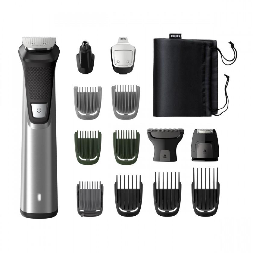 Zastrihávač Philips Series 7000 multifunkční zastrihávač fúzov,vlasov a těla