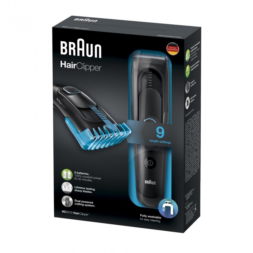 Zastrihávače vlasov Strihač vlasov Braun HC 5010