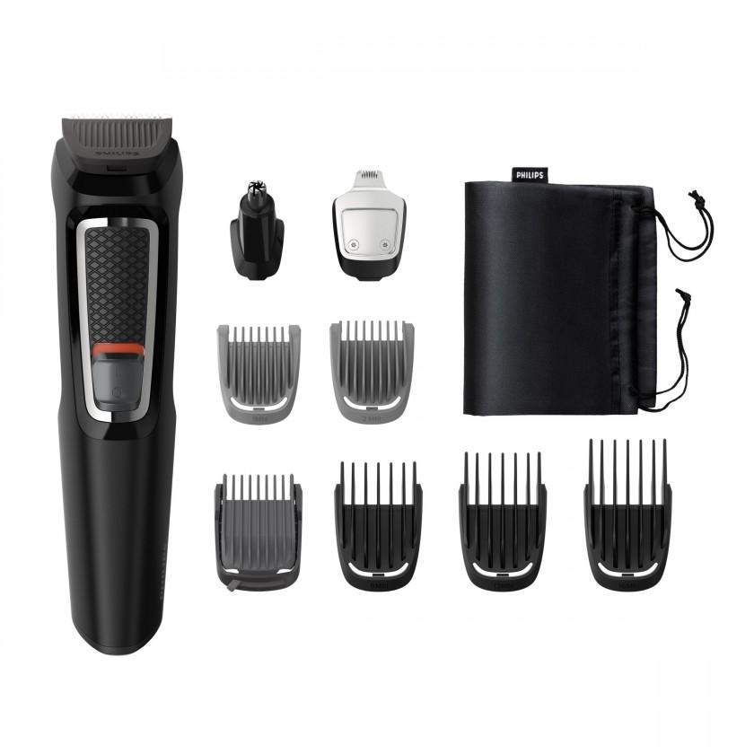 Zastrihávače vlasov Zastrihávač fúzov a vlasov Multigroom Series 3000 MG3740/15, 9v1