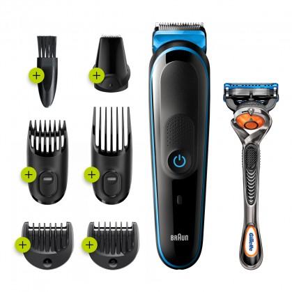 Zastrihávače vlasov Zastrihávač vlasov Braun MGK 5245