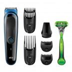 Zastrihovač vlasov a fúzov Braun MGK3040, 7v1