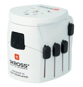 Zásuvky, rozdvojky Cestovný adaptér SKROSS World PA40