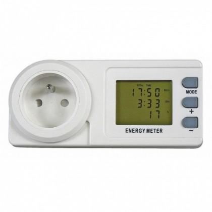 Zásuvky, rozdvojky Emos měřič spotřeb elektrické energie P5801 ROZBALENO