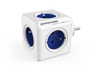 Zásuvky, rozdvojky Napájací adaptér PowerCube Original 5 zásuviek, modrá