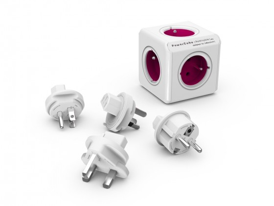Zásuvky, rozdvojky PowerCube ReWirable + Travel Plugs