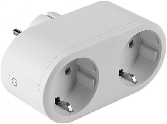 Zásuvky, rozdvojky SMART WiFi zásuvka Winner Group, 2v1, biela