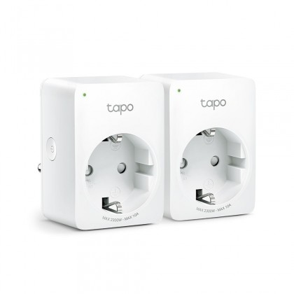 Zásuvky, rozdvojky SMART zásuvka TP-Link Tapo P100, 2-pack, 10A