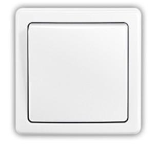 Zásuvky, rozdvojky Spínač Emos 3557G-06340 B1W, striedavý, biely