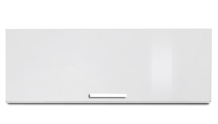 Závesná skrinka Game plus - závesný prvok s klopňou, 90 cm (biela/biela lak HG)