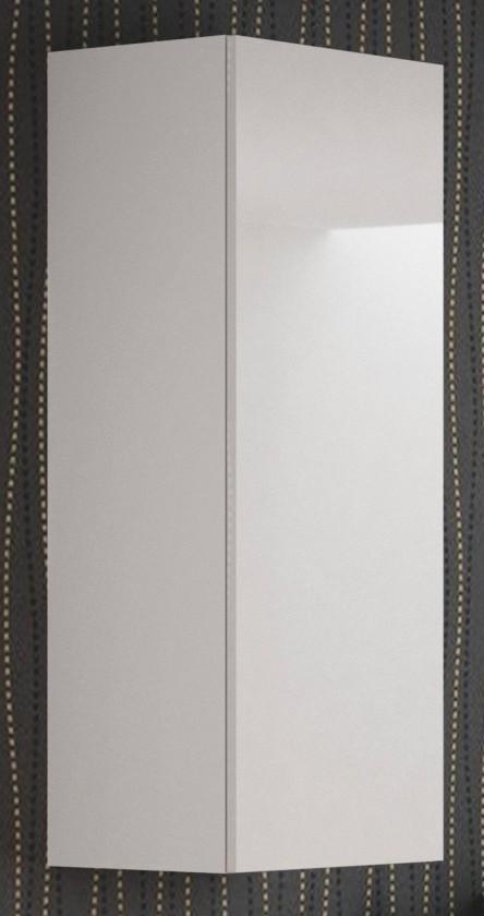 Závesná skrinka Livo - Závesná skrinka 120 (bílá mat/bílá lesk)