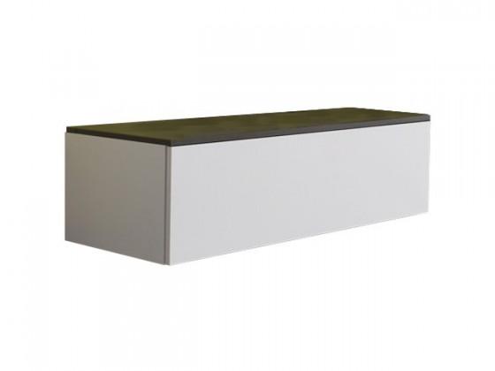 Závesná skrinka Strada C166 (eben perletově sivá)