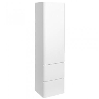 Závesné skrinky do kúpeľne Kúpeľňová skrinka Praya závesná (40x155x35 cm, biela, lesk)