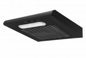 Závesný odsavač pár Guzzanti ZRW 60 Black, 60 cm