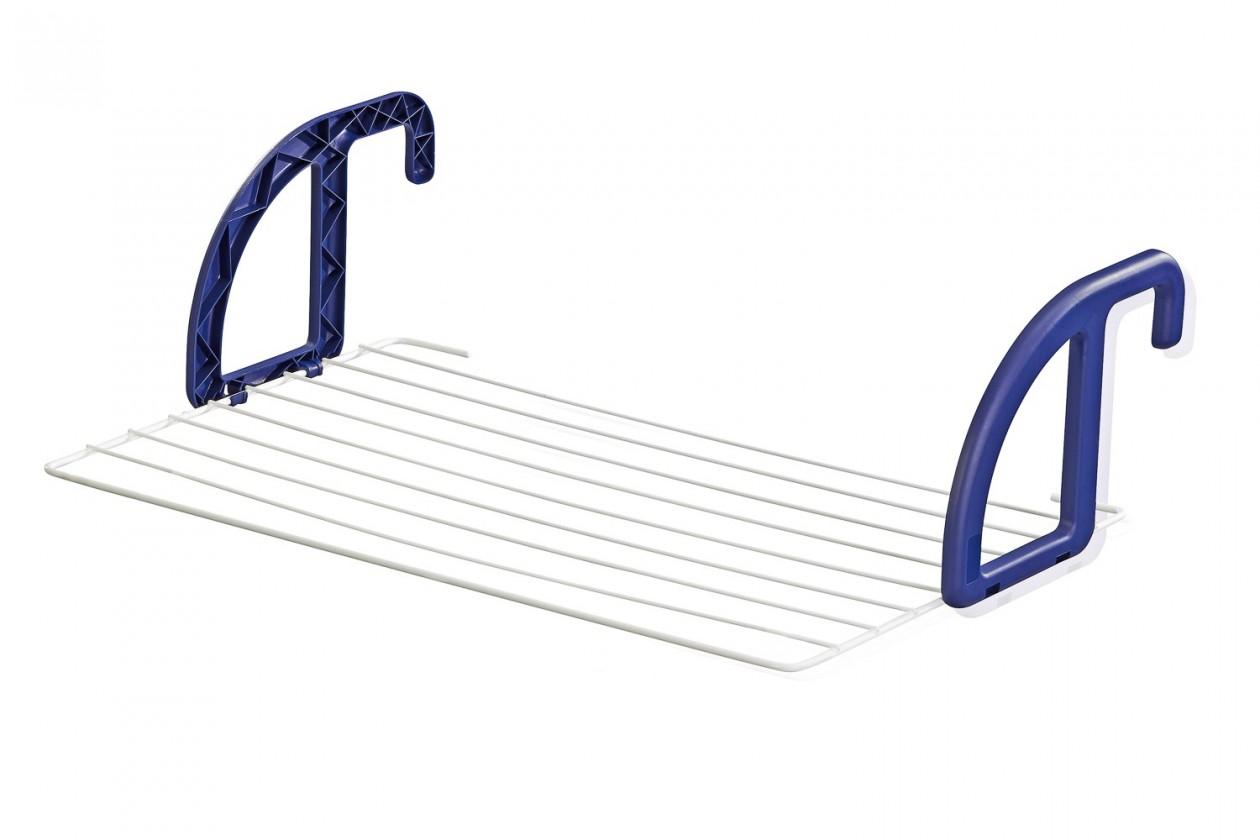 Závěsný sušiak na bielizeň 70 (bielo-fialový)