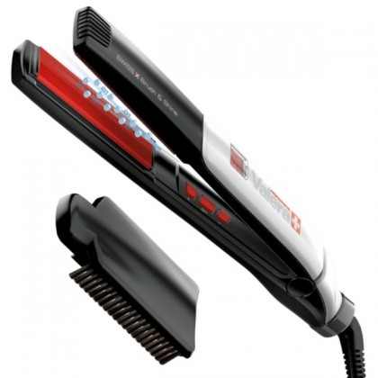 Žehlička na vlasy  Valera 100.01/IS Swiss'X Brush & Shine