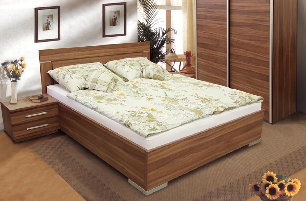 Zľavnené postele Posteľ Dafne 2,180x200,vrátane výkl.rošt,úp,bez matr - II. akosť