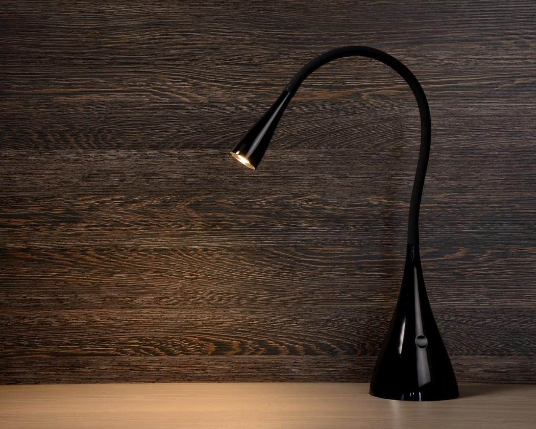 Zozy - lampička, 3W, LED (čierna)