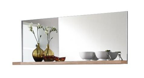 Zrkadlo Adena - panel so zrkadlom a policou