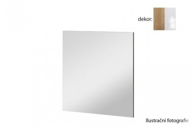 Zrkadlo Arya Typ 08(dub san remo rustic/biela arctic vysoký lesk)