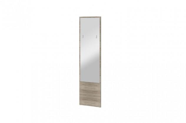 Zrkadlo Arya Typ 09(dub san remo pieskový/biela arctic vysoký lesk )