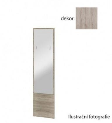 Zrkadlo Arya Typ 09(dub san remo pieskový/dub san remo pieskový)