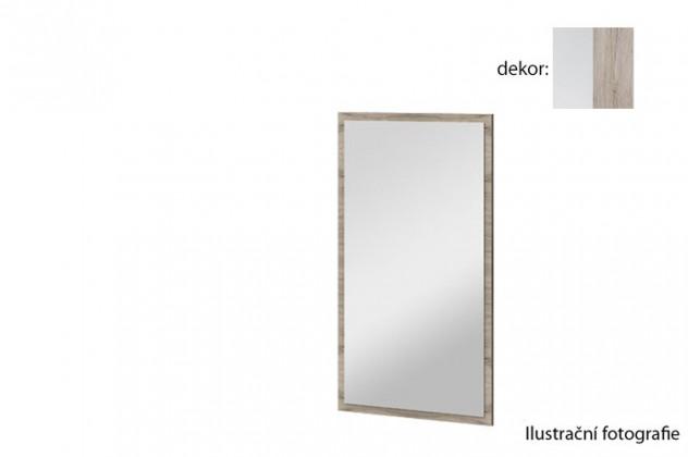 Zrkadlo Arya Typ 10(biela arctic/dub san remo pieskový )