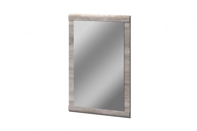 Zrkadlo Balboa - typ 05 (dub bardolino/biela arctic vysoký lesk)