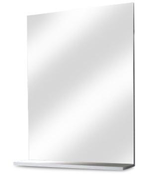 Zrkadlo do kúpeľne Luis - Zrkadlo s poličkou Z 65 (zrkadlo)