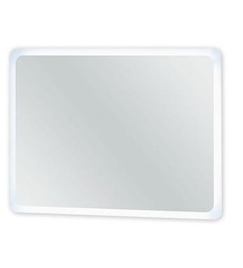 Zrkadlo do kúpeľne Rouen - Zrkadlo s LED osvetlením  80 cm (biela vysoký lesk)