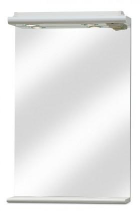 Zrkadlo do kúpeľne Union - Zrkadlo s halogenovým osvetlením 50 cm