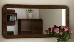 Zrkadlo Link (dub chocolate)