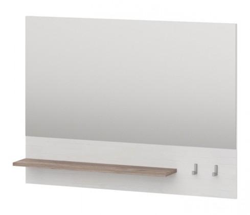 Zrkadlo Semi - Panel so zrkadlom, 1x police, 2x háčik (pino aurelio)