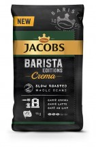 Zrnková káva Jacobs Barista Crema, 1 kg