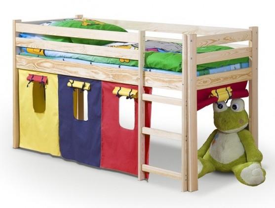 Zvýšená posteľ Neo (borovica)