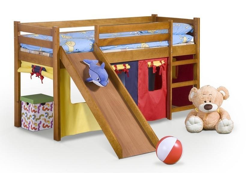 Zvýšená posteľ Neo Plus (jelša)