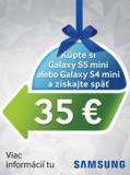 Získaj príspevok 35 EUR na Samsung Galaxy S5 mini alebo Galaxy S4 mini