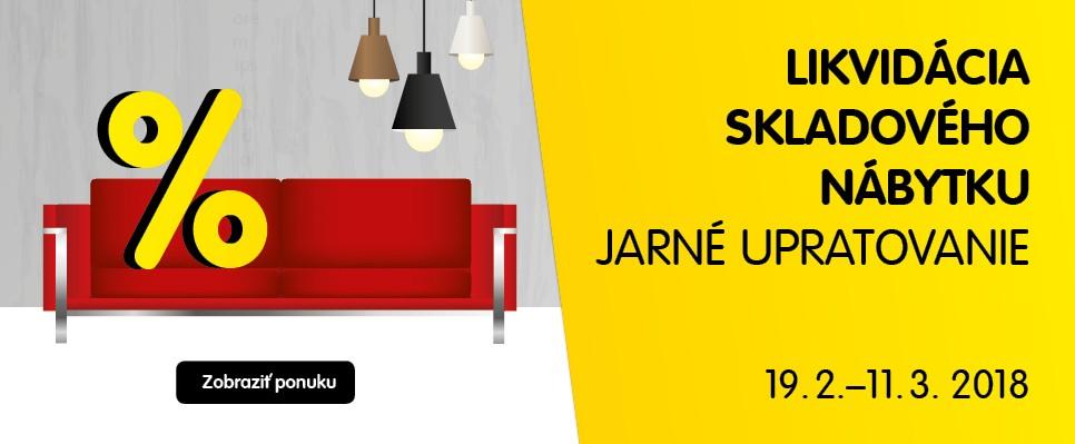 Likvidácia skladov: Príď si pre štýlový nábytok za super cenu!