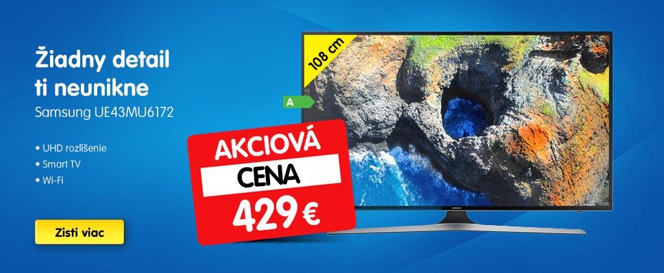Televízor Samsung UE43MU6172