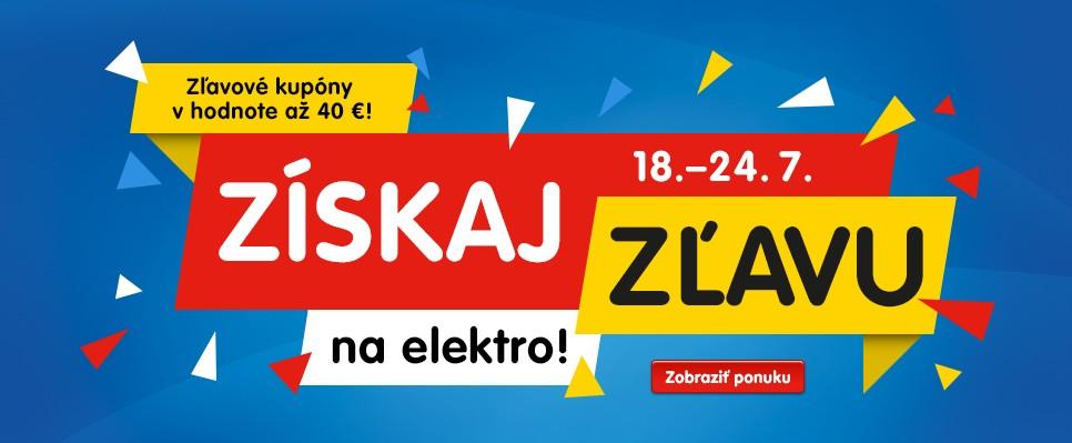 Získaj elektro za parádne ceny so zľavovým kupónom! Ušetriť môžeš až 40 eur!