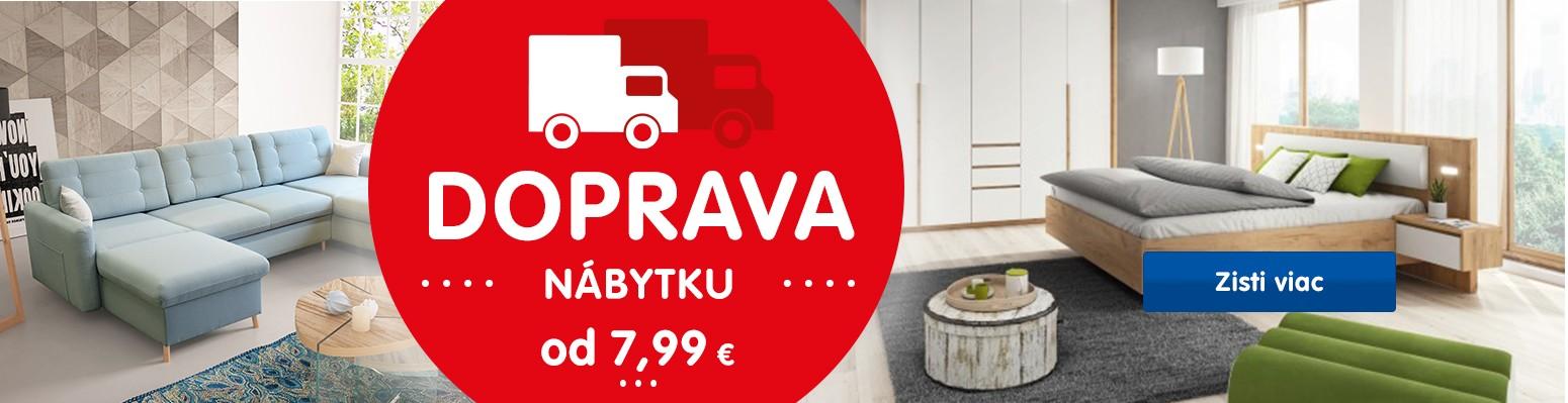 Doprava nábytku od 7,99 €