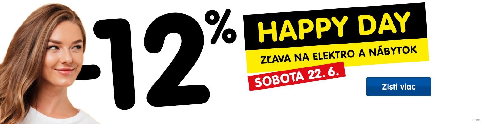 Happy day 22.6 - podmínky