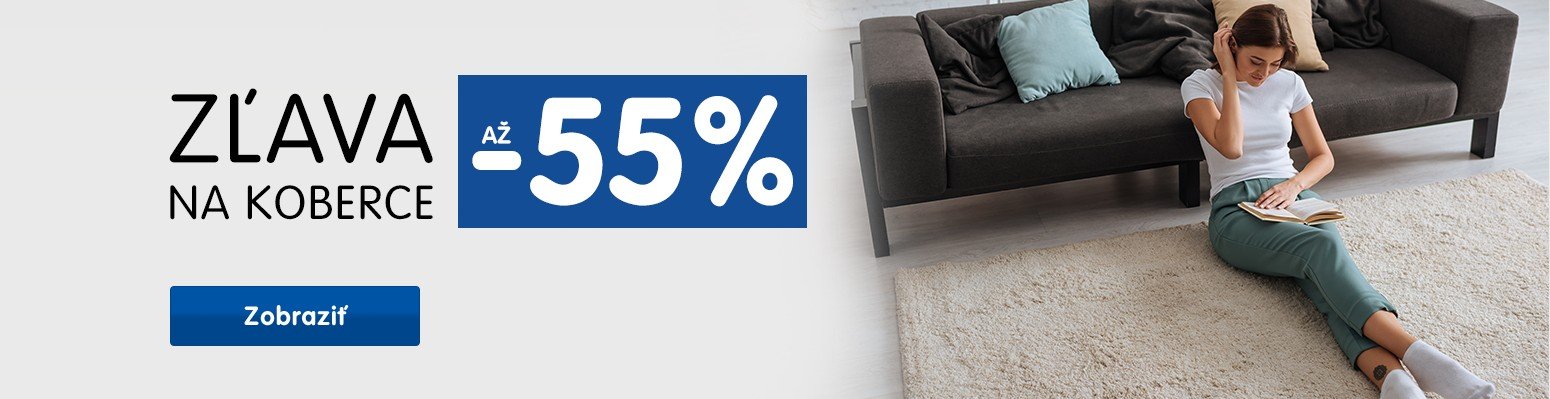 Koberce -55 %