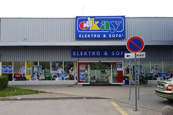 predajňa OKAY