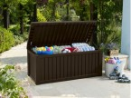 Šikovné riešenie úložného priestoru na záhrade