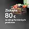 LG 80EUR na nákup farmárskych produktov